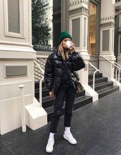 Casual Winter Outfits, Winter Fashion Outfits, Look Fashion, Trendy Outfits, Fashion Weeks, New York Winter Fashion, Cold Winter Fashion, New York Winter Outfit, College Fashion