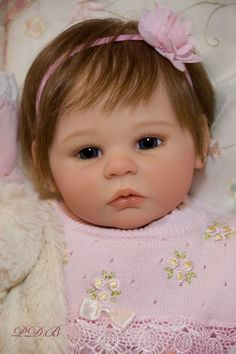 d8ed505df51 CUSTOM ORDER Reborn Doll Baby Girl Shannon by Ann Timmerman You Choose All  the Details