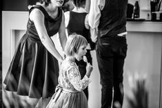 Kids are adorable at the wedding reception