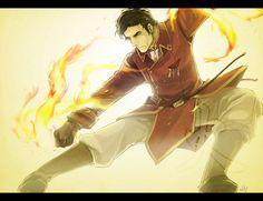 General Iroh by Nazgullow.deviantart.com. He's got his grangfathers smokin hotness!