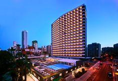 Hotel Don Pancho | Building | Best Hotel in #Benidorm #facade #exterior #design #hoteldonpancho #hotel #sea #holidays #vacaciones #playa