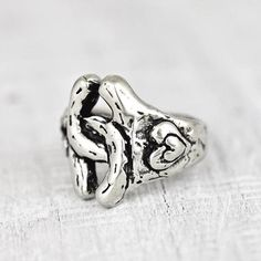 Double Horseshoe Ring  #ring #jewelry #cowgirljewelry #bohojewelry #bohemianjewelry #gypsyjewelry #bohostyle #cowgirlstyle #westernstyle #gypsystyle #bohochic  http://www.islandcowgirl.com/