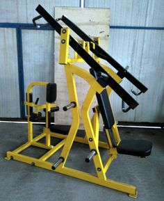 hammer strength plate loaded chest/back  remanufactured