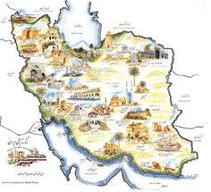 Political Map of Iran Samara, Lonely Planet, Iran Tourism, Iran Pictures, Naher Osten, Cyrus The Great, Iran Travel, Ancient Persia, Tehran Iran