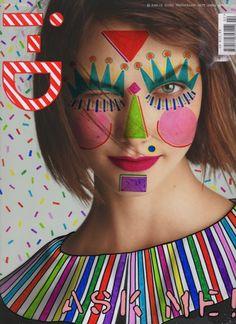 Cover I-D magazine by Ana Strumpf