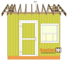 shed plans gable shed roof deck Diy Storage Shed Plans, Wood Storage Sheds, Wood Shed, 10x10 Shed Plans, Shed Base, Free Shed, Cheap Sheds, Clutter Solutions, Large Sheds