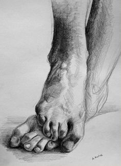 feet sketch by outta-fashion on DeviantArt Feet Drawing, Body Drawing, Life Drawing, Human Anatomy Drawing, Anatomy Art, Pencil Art Drawings, Art Drawings Sketches, Charcoal Drawings, Drawing Skills
