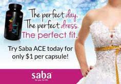Creating your wedding & you need ENERGY to get everything done? Saba ACE can help you AND your wedding party feel FIT and FABULOUS on your special day! See Saba Lustre 3D Lash Mascara for Thick Long Gorgeous lashes! Saba Body Wraps to LOSE inches for the big event! It's the Trifecta of Gorgeousness!! Call or pm me if you want to get EVERYTHING wholesale 219-545-3237