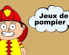 Petits jeux sur le thème des pompiers !