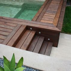Popular Above Ground Pool Deck Ideas. This is just for you who has a Above Ground Pool in the house. Having a Above Ground Pool in a house is a great idea. Tag: a budget small yards Backyard Ideas For Small Yards, Small Backyard Pools, Above Ground Pool Decks, In Ground Pools, Deck Design, Landscape Design, Contemporary Landscape, Steps Design, Landscape Architecture