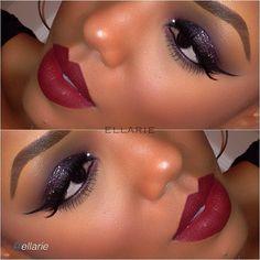 Beautiful makeup look by #ellarie using Motives cosmetics!