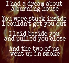 Cam -  Burning House lyrics