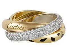 Cartier Trinity Sauvage. Gorgeous!