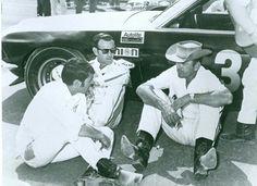 Smokey's boss mustang at Talladega 1969