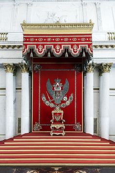 The Romanov Throne - St Petersburg, Russia