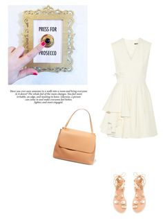 """Untitled #343"" by piccolamarisa ❤ liked on Polyvore featuring Ancient Greek Sandals, Alexander McQueen and The Row"