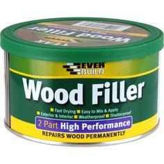 Everbuild 2 Part High Performance Wood Filler Repair Paintable External Use Squeaky Floors, Leaky Faucet, Home Fix, Diy Home Repair, Diy Network, Home Repairs, Useful Life Hacks, Do It Yourself Home