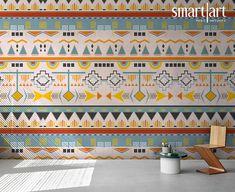 Smart Art Custom Printed Wallpaper