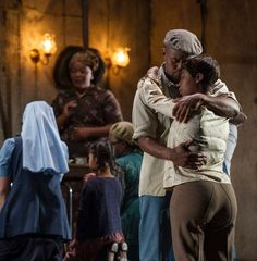 Kobus Rossouw Lighting design. Porgy and Bess. Cape Town Opera. Director: Christine Crouse.