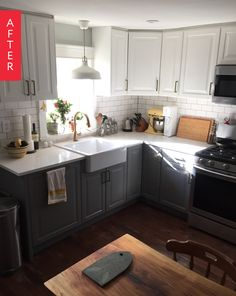 Before & After: Breathing New Life Into A Run-Down Kitchen