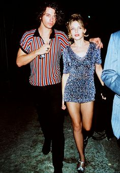 Michael Hutchence & Kylie Minogue