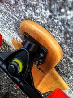 Handmade Bamboo Longboard   luca@eyesboard.net
