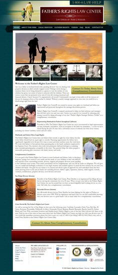 #WebDev work for Father's Rights by Best Rank, Inc.–