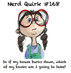 Nerd Quirk #168. Besides scriptures, Complete Works of Shakespeare, Deathly Hallows, and my book of Greek Myths.