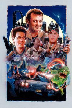 Ghostbusters Hero Complex Gallery by Nick Runge Fan Art, Die Geisterjäger, Cinema Tv, Cinema Theatre, The Real Ghostbusters, Kino Film, Ghost Busters, Alternative Movie Posters, Movie Poster Art