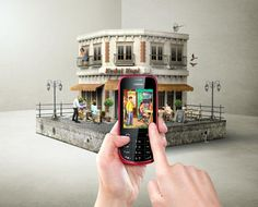 Nokia by Clarissa +Peddy, via Behance