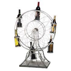 Ferris Wheel Wine Rack - Summer Sipping on Joss & Main