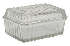 Smörlåda Glas kitchentime.se 91 kr fri frakt