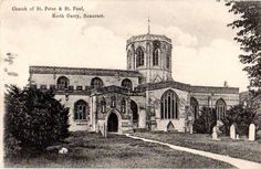 Church of St Peter & St Paul, North Curry, Somerset, England. Some of my ancestors were from North Curry - if you're researching the Denman, Broom or Baskett families, do get in touch! esjones <at> btopenworld.com