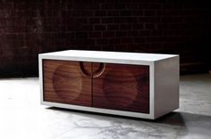 A cabinet for both storage and easy cable management  Hometone