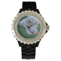 #Adorable Maltipoo Wristwatch - #poodle #puppy #poodles #dog #dogs #pet #pets #cute