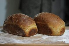 100% whole grain wheat bread-makes 3 medium. wicked good bread-lighter than most wheat bread. honey/molasses(I used log cabin syrup)  adds sweetness that most whole wheat bread is missing