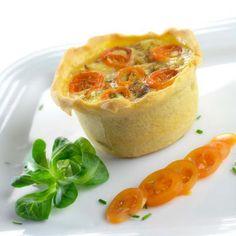Receitas - Quiche de Legumes - Petiscos.com