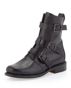 Hudson+Moto+Ankle+Boot+by+Rag+&+Bone+at+Neiman+Marcus.