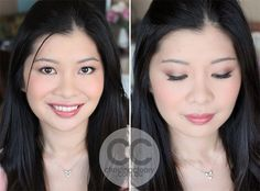 Asian Eye Makeup, Dark Asian Eyes, Asian Bride, Black Eyeshadow, Grey Eyeshadow, Perfect eyeliner, Perfect Skin, Asian, Chinese Bridal  Makeup, Chinese Bride, Hair, Makeup, Bridal, Wedding   MAKEUP + PHOTOGRAPHY CHRISTINA CLEARY www.christinacleary.com.au