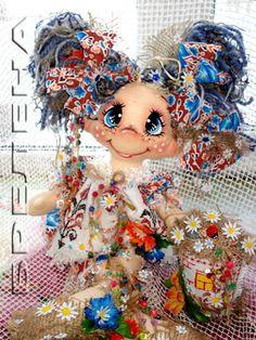 Текстильная кукла -оберег домовушка-желанница Дарьюшка