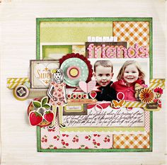 A Pretty Party Layout w/Christine Middlecamp from Crate Paper