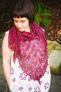 Online yarn store for knitters and crocheters. Designer yarn brands, knitting patterns, notions, knitting needles, and kits. Lace Knitting Patterns, Knitting Designs, Knitting Ideas, Online Yarn Store, Knitted Shawls, Knitted Scarves, Knit Wrap, Yarn Brands, Shawls And Wraps
