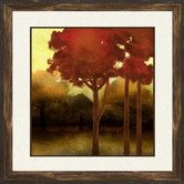 Found it at Wayfair - Fluffy Trees 2 Piece Framed Painting Print Set