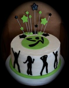 A Zumba cake!!