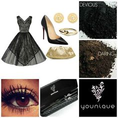 Perfect #NYE party outfit and makeup. Get the Younique Look - Pulled together outfits complimented by Younique Eye Pigments and Our best selling product, 3D Fiber Lashes dramatically enhances and magnifies the appearance of your own lashes. Make the switch to Younique: socially and environmentally responsible makeup and skincare products. The products are paraben free, chemical free, never tested on animals and hypoallergenic.  We have a guarantee for 90 days on all products that's how ...