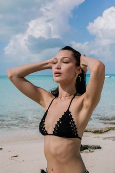 When supermodels Bella Hadid, Alessandro Ambrosio, Emily Ratajkowski, Hailey Baldwin, and Elsa Hosk all started posting Instagrams last weekend from the Bahamas, it seemed like everyone on the Internet wanted to know why. Now, we have the answer: the gaggle of super social supermodels weren't on vacation–they were getting a first look at Fyre Festival, a music festival taking place next spring. Photographer Brett Kincaid captured every moment of the titillating trip and the images are…