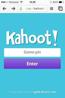 Kahoot is een makkelijk te gebruiken student-response systeem dat werkt op elk apparaat. Het stelt je in staat om multiple choice quizzen te...