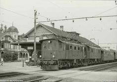 Be 4/4 108 und 106 mit Personenzug 536 Swiss Railways, Electric Locomotive, Bern, Trains, History, Street, Random, Iron Steamer, Switzerland