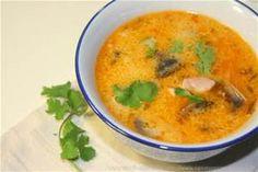 Le Chef Pierre D'Iberville: Soupe thaïlandaise au poulet et coriandre