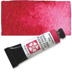 Quinacridone Pink (PV42) 15ml Tube, DANIEL SMITH Extra Fine Watercolor